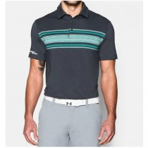 Under Armour Men's Playoff Space Dyed Polo - Stealth Gray